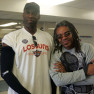 Mark West assistant coach NBA Phoenix Suns and Ken Hollis
